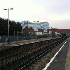 Photo taken at Twickenham Railway Station (TWI) by matthew k. on 3/29/2011