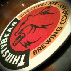 Photo taken at ThirstyBear Brewing Company by surlypants on 10/3/2011