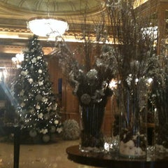 Photo taken at The Westin Palace Milan by esra t. on 12/16/2011