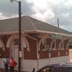 Photo taken at Amtrak Station - Tuscaloosa, AL (TCL) by WJ M. on 7/29/2011