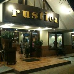 Photo taken at Rustica Restaurant by Stephen Janssen O. on 8/31/2012