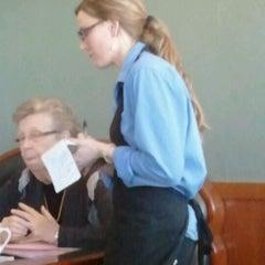 Photo taken at Faros Family Restaurant by Erica J. on 2/19/2012