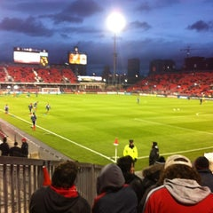 Photo taken at BMO Field by Tim S. on 3/28/2012