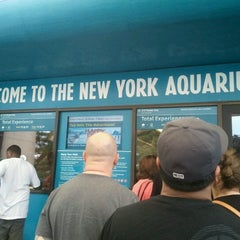 Photo taken at New York Aquarium by Modesta M. on 9/2/2012