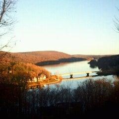 Photo taken at Deep Creek Lake by Chris A. on 11/7/2011