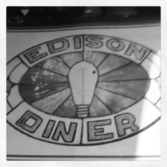 Photo taken at Edison Diner by Jack G. on 3/30/2012