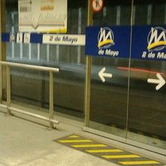 Photo taken at Estación 2 de Mayo - Metropolitano by Richard C. on 6/20/2012