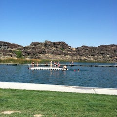 Photo taken at Dierkes Lake by Charlee S. on 9/3/2012