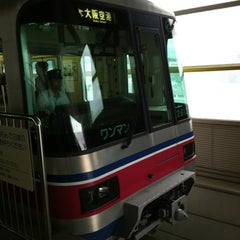 Photo taken at 大阪モノレール 蛍池駅 (Hotarugaike Sta.) by moba on 7/12/2012