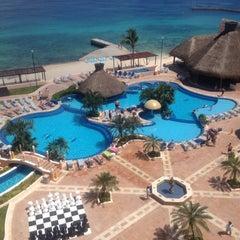 Photo taken at El Cozumeleño Beach Resort by Cinthya on 8/4/2012