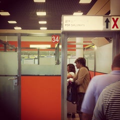 Photo taken at Паспортный контроль / Passport Control (E) by Mike S. on 9/5/2012