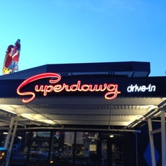 Photo taken at Superdawg Drive-In by Matt L. on 7/16/2012
