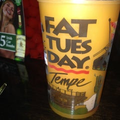 Photo taken at Fat Tuesday by Tito G. on 3/16/2012