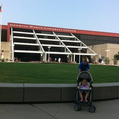 Photo taken at Georgia World Congress Center (GWCC) by Mollie C. on 7/3/2012