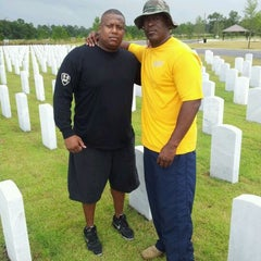 Photo taken at Jacksonville National Cemetery by Larron W. on 5/28/2012