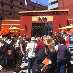 Photo taken at MoMo's Restaurant by Dana C. on 7/28/2012