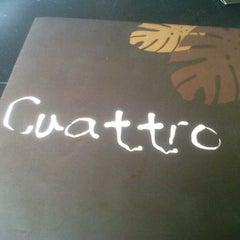Photo taken at Cuattro by Pamela H. on 6/15/2012