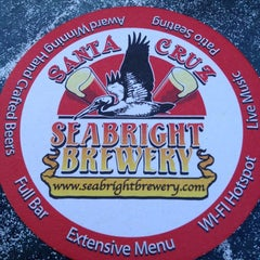 Photo taken at Seabright Brewery by Paul B. on 6/29/2012