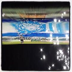 Photo taken at Estádio Aderbal Ramos da Silva (Ressacada) by Danton B. on 5/6/2012