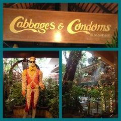 Photo taken at Cabbages and Condoms by Tei on 6/22/2012