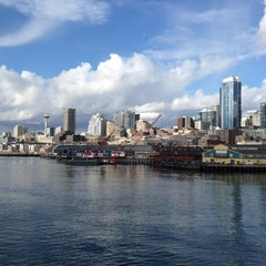Photo taken at Seattle Ferry Terminal by Mertle on 3/17/2012