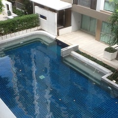Photo taken at Swimming Pool At A Space Bld. B by Ronamedo N. on 9/2/2012