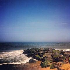 Photo taken at Manasquan Beach by chris on 8/5/2012