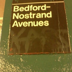 Photo taken at MTA Subway - Bedford/Nostrand Aves (G) by Kimble S. on 7/14/2012