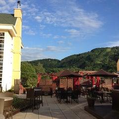 Photo taken at Hotel Château-Bromont by Matt U. on 6/28/2012