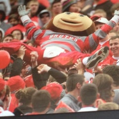 Photo taken at Buckeye Hall of Fame Grill by Josh L. on 6/2/2012