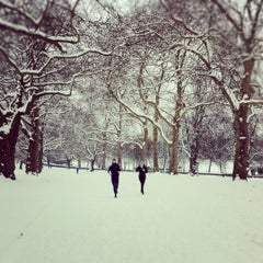 Photo taken at Finsbury Park by Annie H. on 2/5/2012