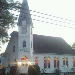 Photo taken at Trinity Lutheran Church by Dustin B. on 6/8/2012
