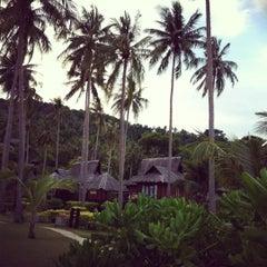 Photo taken at Phi Phi Island Village by Gema M. on 3/3/2012