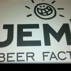 Photo taken at Jem's Beer Factory by Dani H. on 6/12/2012