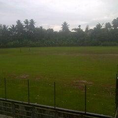 Photo taken at Stadion UNIB by Bayu i. on 11/16/2011