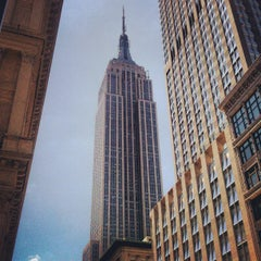 Photo taken at Empire State Building by Teddy P. on 6/15/2012