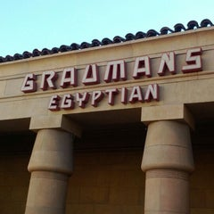 Photo taken at The Egyptian Theatre by kelly v. on 1/28/2012