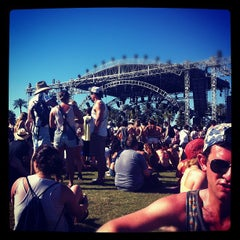 Photo taken at Coachella Outdoor Theatre by Sabrina R. on 4/20/2012
