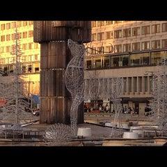 Photo taken at Sergels Torg by Henrik P. on 11/19/2011