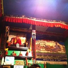 Photo taken at Cafe Tibet by Marina K. on 9/26/2011
