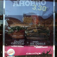 Photo taken at Burger King by Jorge A. on 1/29/2012