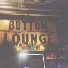 Photo taken at Bottom Lounge by Manik R. on 7/4/2012