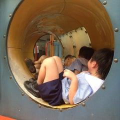 Photo taken at Playground by Pat B. on 8/29/2012