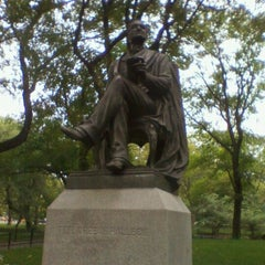Photo taken at Fitz Greene Halleck Statue by Tracey N. on 9/22/2011