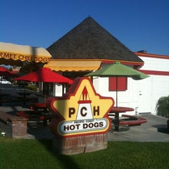 Photo taken at Pacific Coast Hot Dogs (PCH Dogs) by Dave E. on 7/26/2011