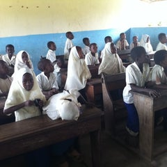 Photo taken at Michanvi School Zanzibar by Silvia N. on 8/4/2011