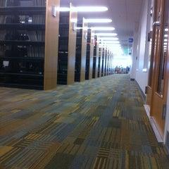 Photo taken at University Library - Cal Poly Pomona by Alex W. on 5/9/2011