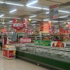 Photo taken at Lotte Mart by Khanh L. on 1/28/2012
