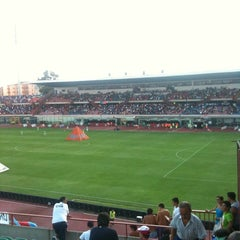 "Photo taken at Stadio Cibali ""Angelo Massimino"" by Ernesto M. on 9/11/2011"