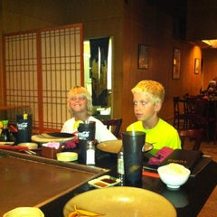 Photo taken at Sumo Japanese Steak House by Adam P. on 6/17/2012